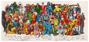 History of the DC Universe Poster 1988
