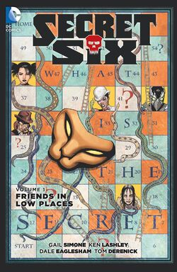 Cover for the Secret Six: Friends in Low Places Trade Paperback