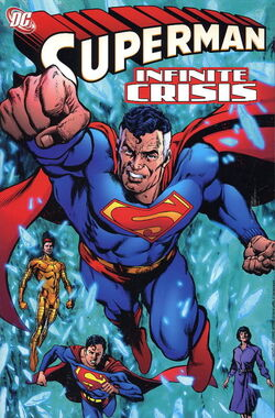 Cover for the Superman: Infinite Crisis Trade Paperback