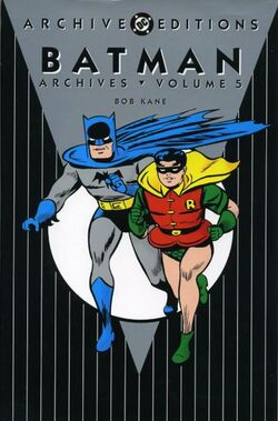 Cover for the Batman Archives Vol 5 Trade Paperback