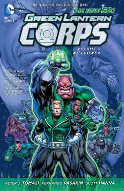 Cover for the Green Lantern Corps: Willpower Trade Paperback