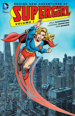 Cover for the Supergirl: The Daring New Adventures Of Supergirl Vol 1 Trade Paperback