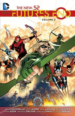 Cover for the The New 52: Futures End Vol. 2 Trade Paperback