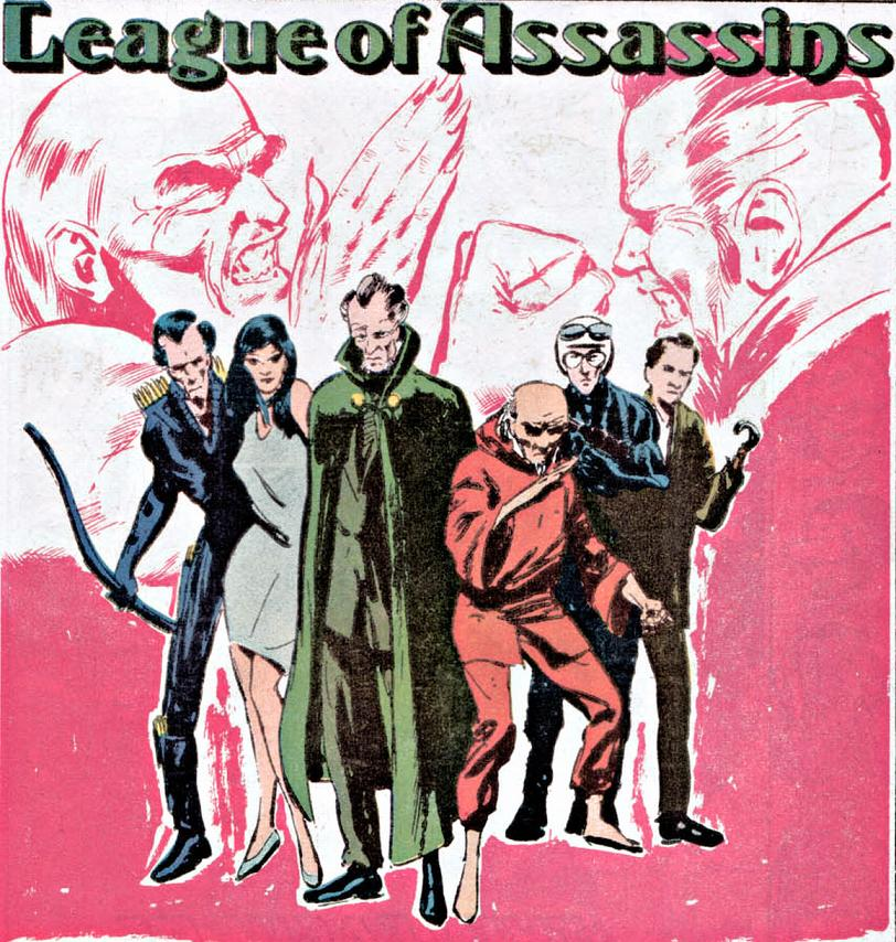 League Of Assassins New Earth Dc Database Fandom Powered By Wikia