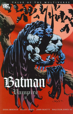 Cover for the Tales of the Multiverse: Batman - Vampire Trade Paperback