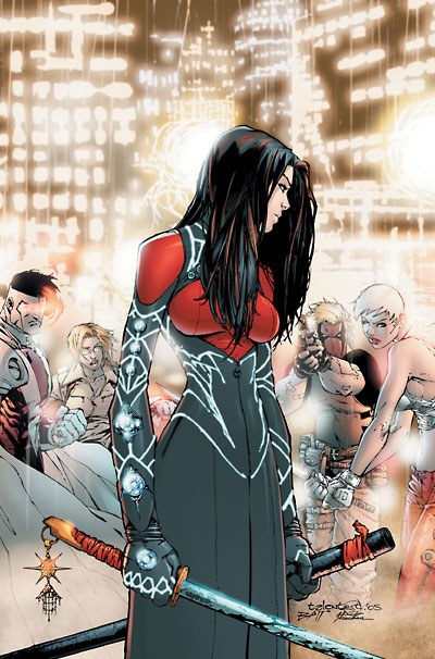 lady charis  wildstorm universe