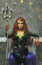 Mera takes the throne as Queen of Atlantis
