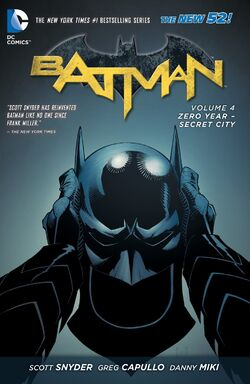 Cover for the Batman: Zero Year - Secret City Trade Paperback