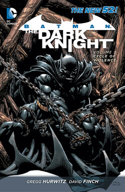 Cover for the Batman: The Dark Knight - Cycle of Violence Trade Paperback