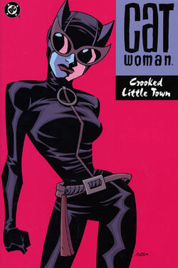 Cover for the Catwoman: Crooked Little Town Trade Paperback