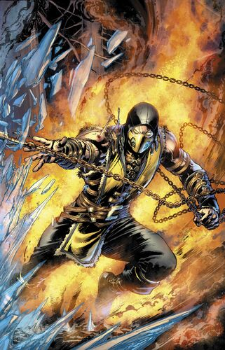 Textless Scorpion Cover
