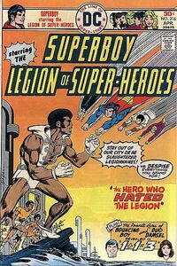 Superboy and the Legion were given a less-than-friendly reception by Tyroc during their stay on Marzal Island