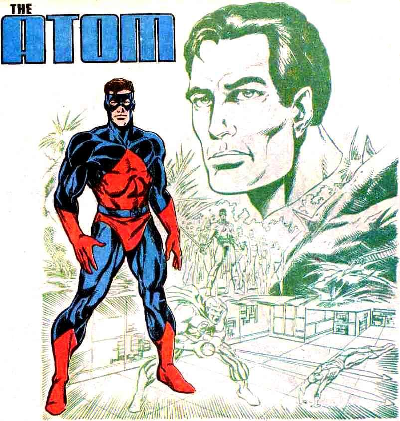 Átomo Ray Palmer Heroes Wiki Fandom Powered