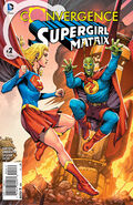 Convergence Supergirl Matrix Vol 1 2