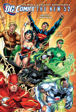 Cover for the DC Comics: The New 52 Trade Paperback
