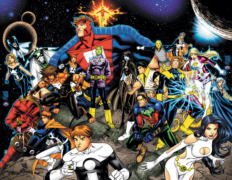 legion of super heroes earth prime dc database fandom powered by wikia. Black Bedroom Furniture Sets. Home Design Ideas