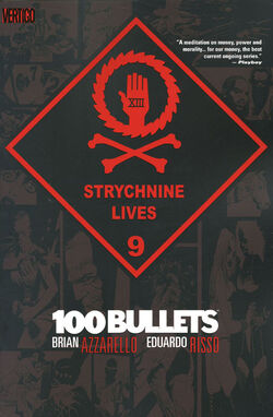 Cover for the 100 Bullets: Strychnine Lives Trade Paperback