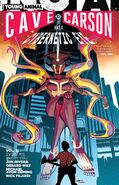 Cave Carson Has a Cybernetic Eye Every Me Every You