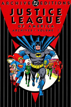 Cover for the Justice League of America Archives Vol. 1 Trade Paperback
