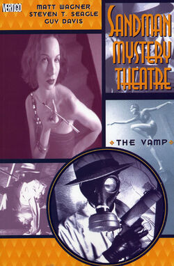 Cover for the Sandman Mystery Theatre: The Vamp Trade Paperback