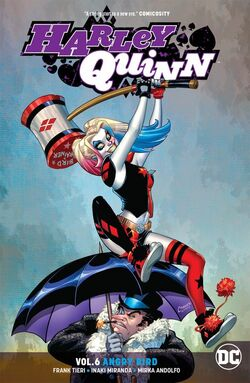 Cover for the Harley Quinn: Angry Bird Trade Paperback