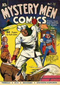 Mystery Men Comics Vol 1 1