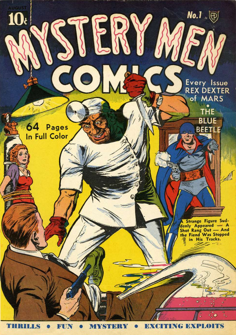 Image result for comic series mystery man