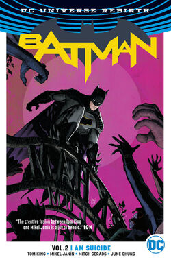 Cover for the Batman: I Am Suicide Trade Paperback