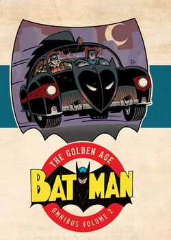 Cover for the Batman: The Golden Age Omnibus Vol. 2 Trade Paperback