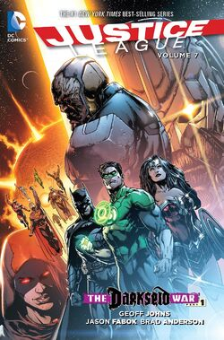 Cover for the Justice League: The Darkseid War, Part 1 Trade Paperback