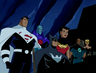 justice lords dcau a better world dc database