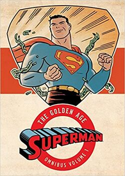 Cover for the Superman: The Golden Age Omnibus Vol. 1 Trade Paperback