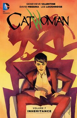 Cover for the Catwoman: Inheritance Trade Paperback