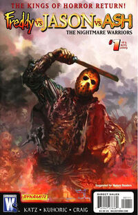 Freddy vs. Jason vs. Ash The Nightmare Warriors Vol 1 1