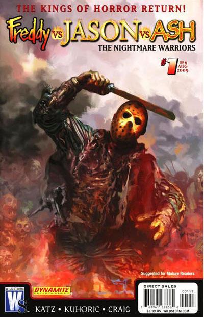 Freddy Vs Jason Ash The Nightmare Warriors Vol 1