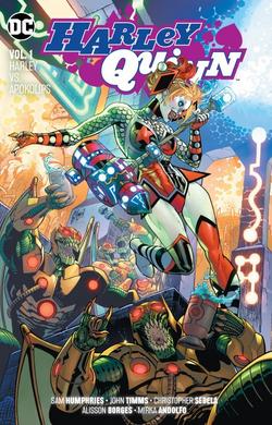 Cover for the Harley Quinn: Harley vs Apokolips Trade Paperback