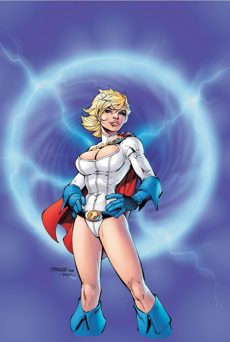 Superheroine comixxx wonder woman power girl big one