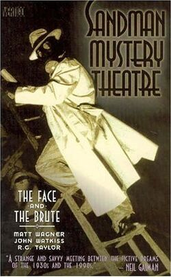 Cover for the Sandman Mystery Theatre: The Face and The Brute Trade Paperback
