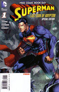 Superman Last Son of Krypton FCBD Special Edition Vol 1 1
