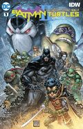 Batman Teenage Mutant Ninja Turtles II Vol 1 1