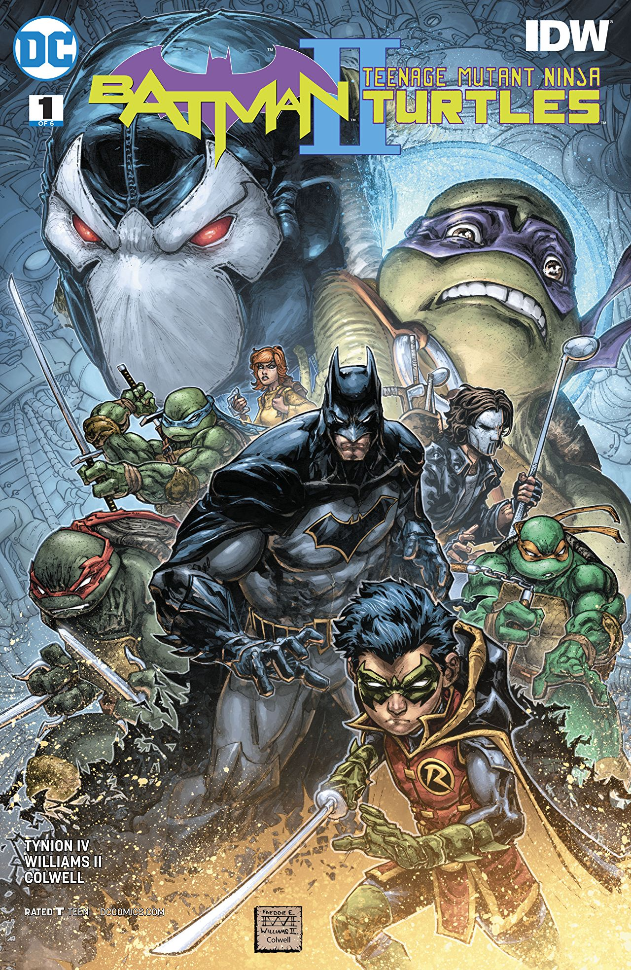 Batman/Teenage Mutant Ninja Turtles II Vol 1 | DC Database