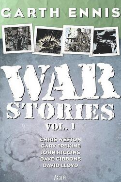 Cover for the War Stories Vol. 1 Trade Paperback