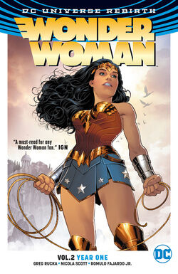 Cover for the Wonder Woman: Year One Trade Paperback