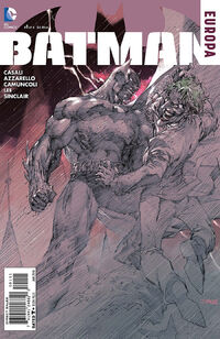 Batman Europa Vol 1 1