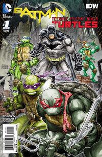 Batman Teenage Mutant Ninja Turtles Vol 1 1