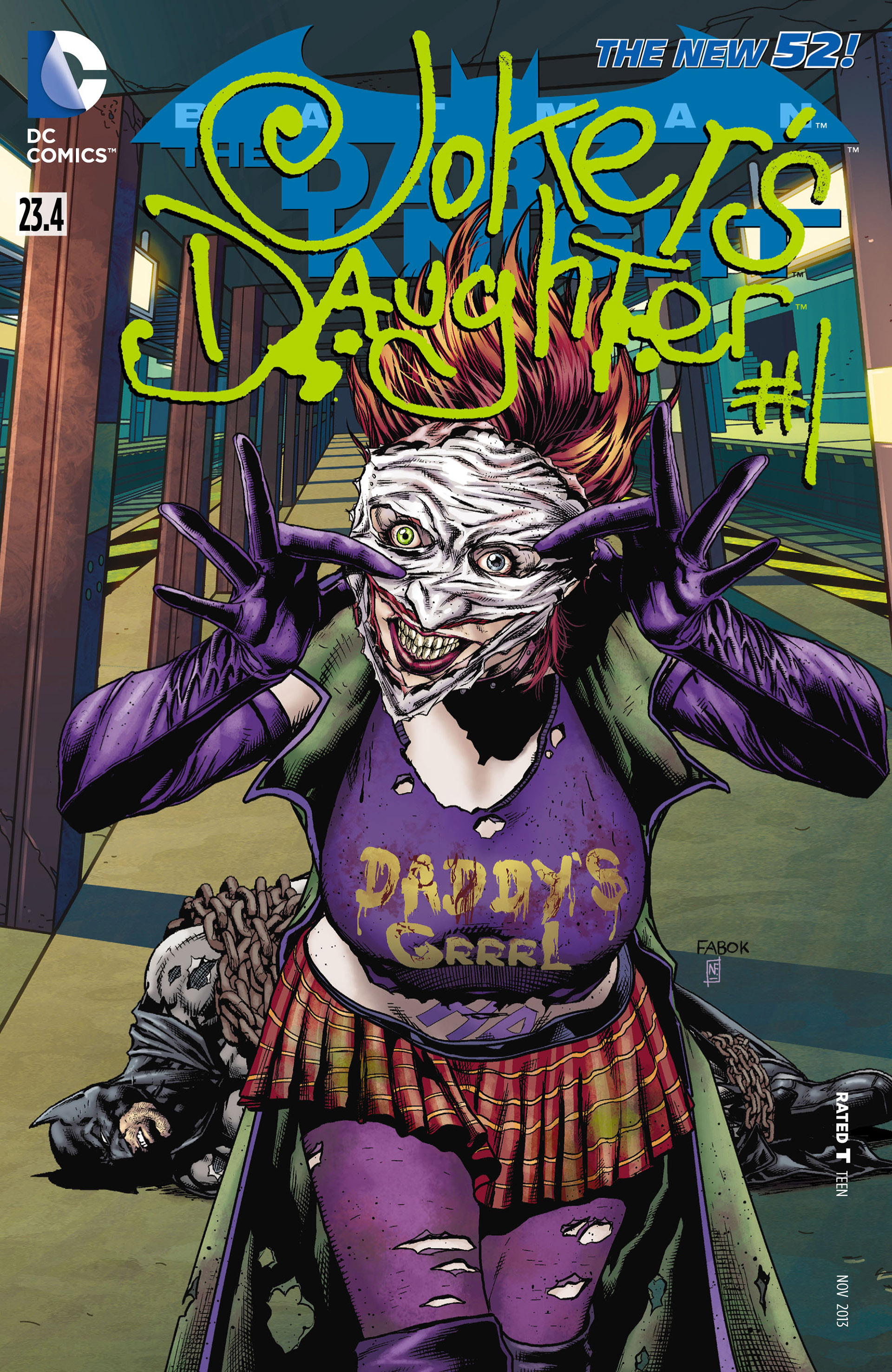 Batman The Dark Knight Vol 2 23 4 The Joker S Daughter