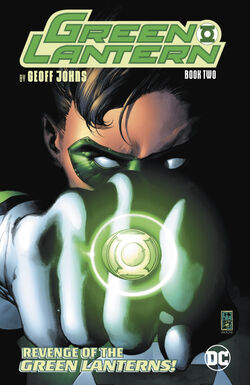 Cover for the Green Lantern by Geoff Johns Vol. 2 Trade Paperback
