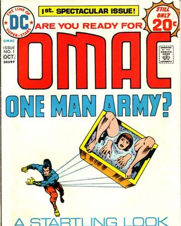 OMAC Vol 1 1 | DC Database | Fandom