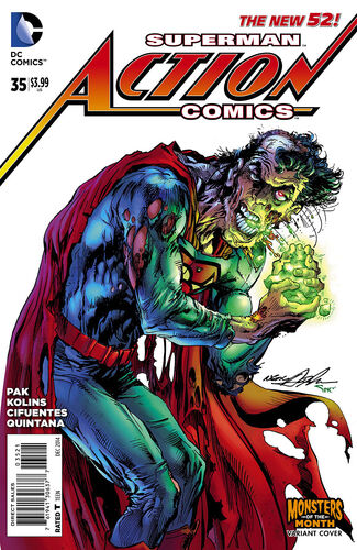 [[Neal Adams]] Monsters of the Month Variant