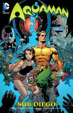 Cover for the Aquaman: Sub-Diego Trade Paperback